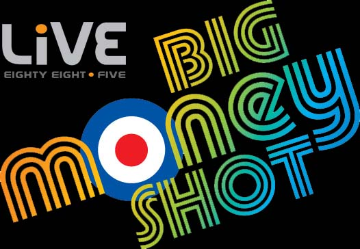 LiVE 88.5 Big Money Shot logo