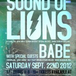 Sound of Lions - promo poster