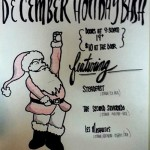 Rock Steady Bookings Holiday Bash - poster