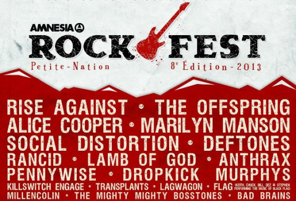 Amnesia Rockfest - Band submission deadline