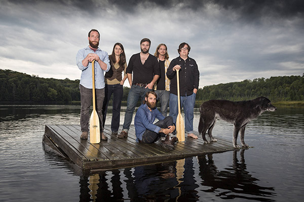 The Strumbellas- promo - photo credit Heather Pollock