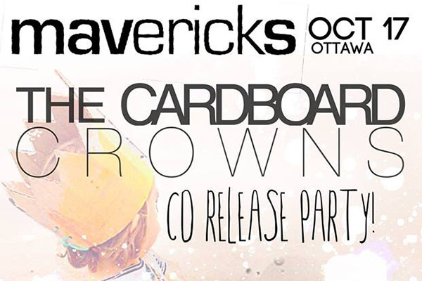 The Cardboard Crowns - cd release show