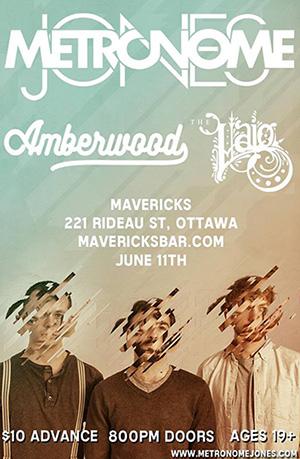 Metronome Jones - Mavericks show poster