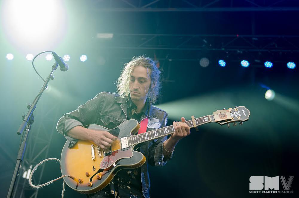Rob Cooke - The Heavy Medicine Band - photo Scott Martin Visuals