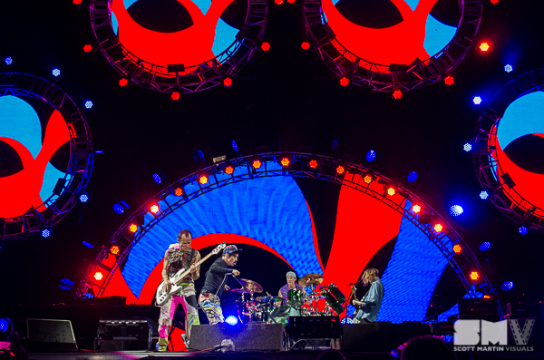 Red Hot Chili Peppers at Ottawa Bluesfest 2016
