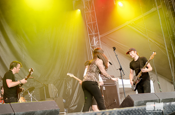 The Yips at Ottawa Bluesfest 2016