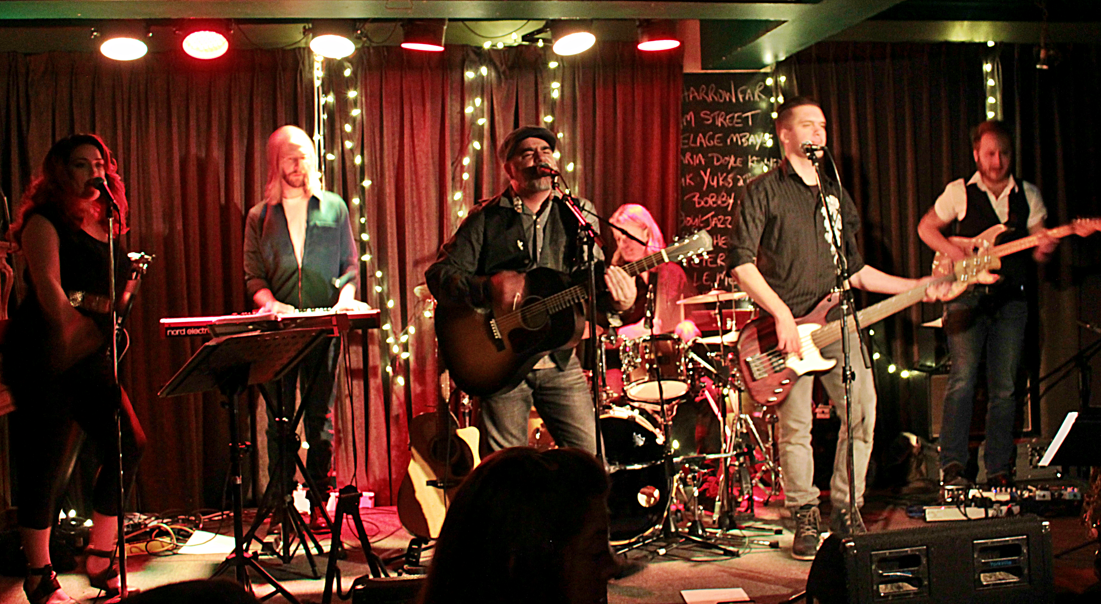 The Powergoats at the Black Sheep Inn - photo by Terry Steeves