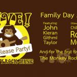 Monkey Rock Music Family Day Kids' Rock Concert at the Brass Monkey