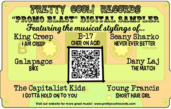 Pretty Cool Records! 2017 summer sampler