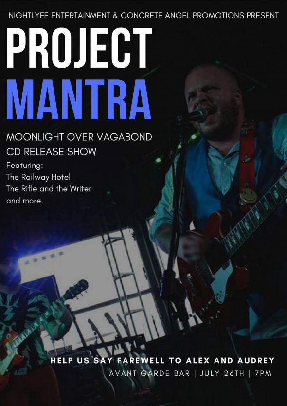 Project Mantra - album release poster