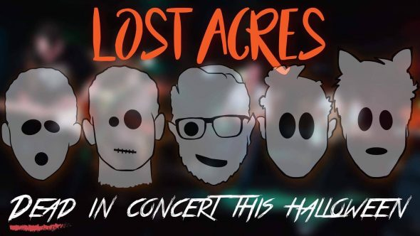 Lost Acres - Halloween show poster