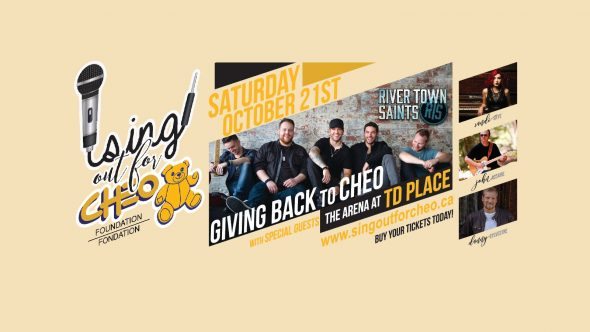 Sing Out for CHEO! poster