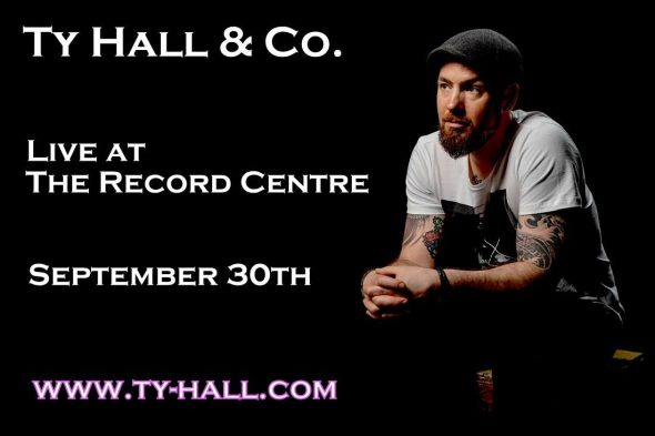 Ty Hall - album release at The Record Runner