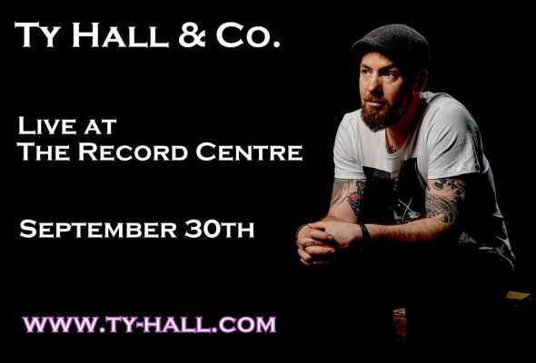 Ty Hall will debut Nothing But Time with a performance at The Record Centre