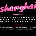 Return to Shanghai: Scary Bear Soundtrack, The Fays at Shanghai Restaurant