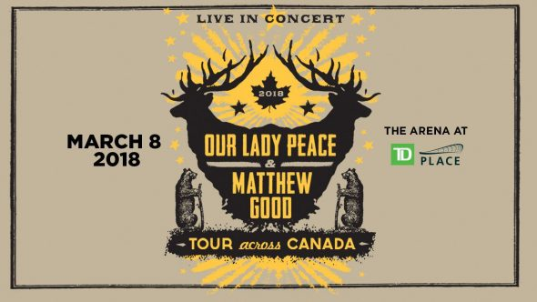 Our Lady Peace and Matthew Good - TD Place
