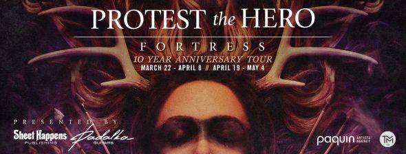 Protest The Hero - Fortress Tour