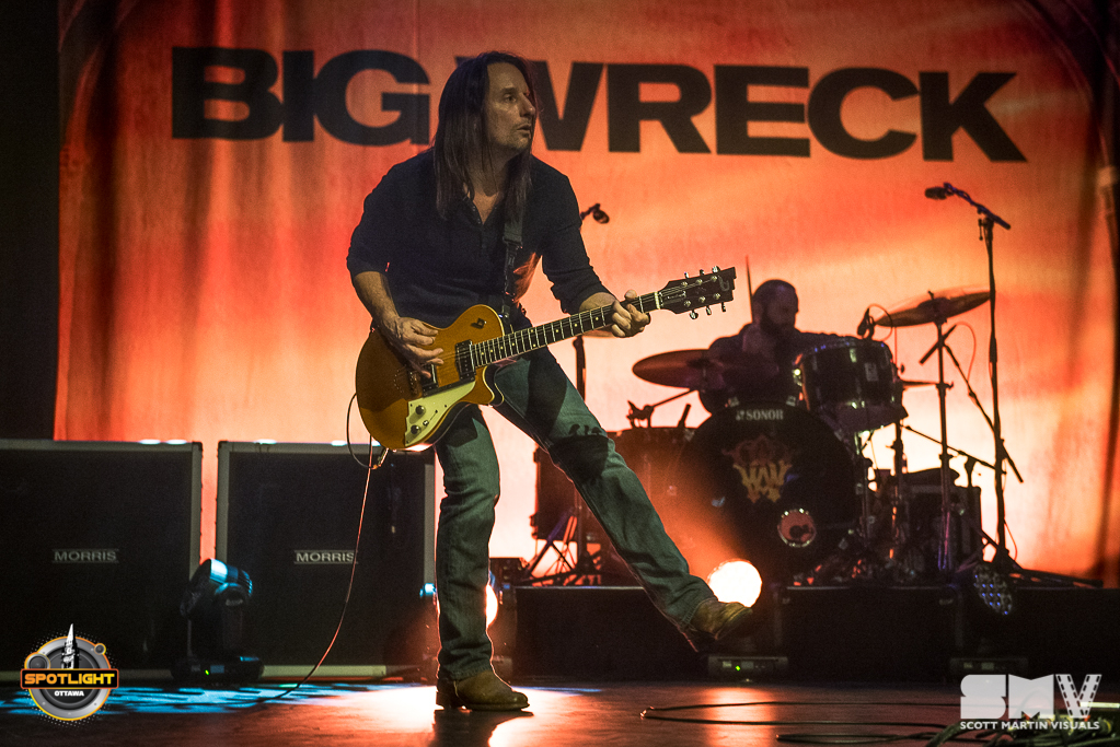 Big Wreck at Algonquin Commons Theatre - 2018 - Scott Martin Visuals
