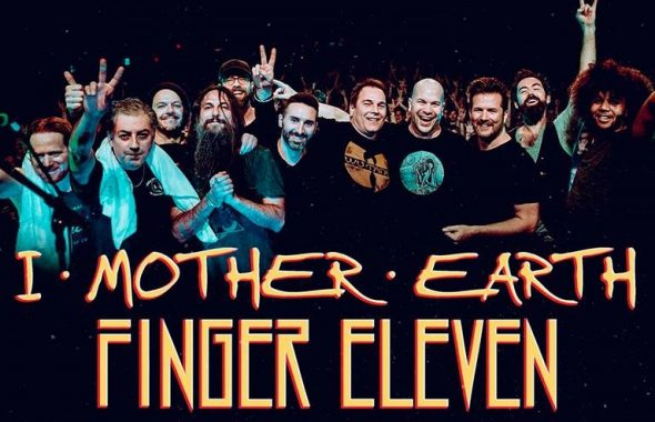 I Mother Earth and Finger Eleven tour