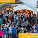 Check out the music lineup for the 2018 Orleans Craft Beer Festival