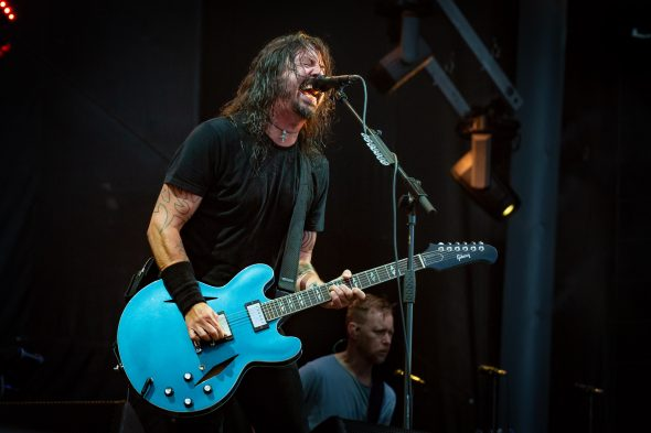 Foo Fighters at Ottawa Bluesfest 2018 by Mark Horton