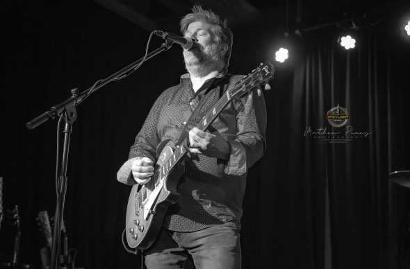 Paul Deslauriers Band at Overflow Brewing Company (2019) by Matthew Perry
