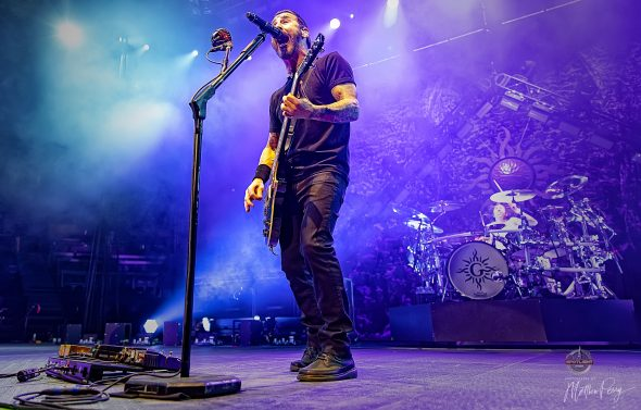Godsmack at Canadian Tire Centre (2019) by Matthew Perry