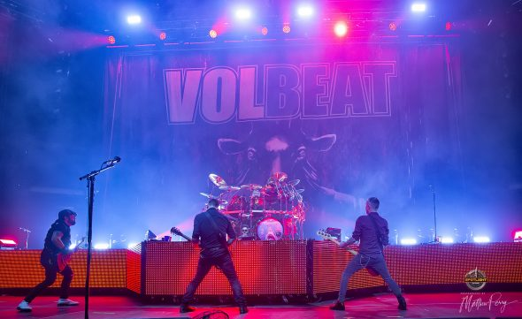 Volbeat at Canadian Tire Centre (2019) by Matthew Perry