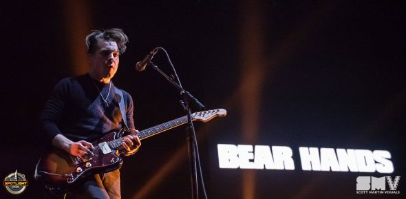 Bear Hands at Canadian Tire Centre (2019) by Scott Martin Visuals