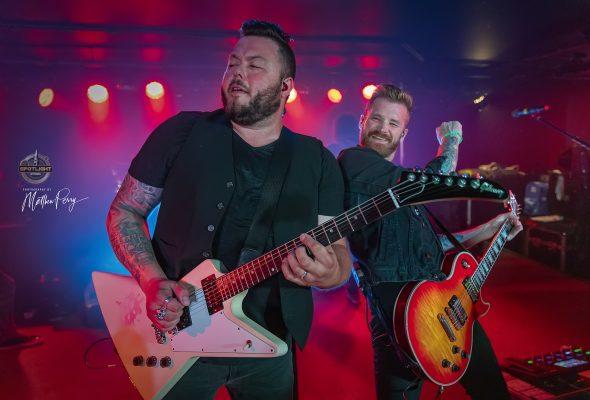 Hinder Lucky 7 Tour Hits Ottawa's The Brass Monkey