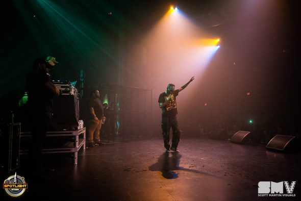 Night Lovell at Algonquin Commons Theatre - Diamond Mine Agency 2019 by Scott Martin Visuals
