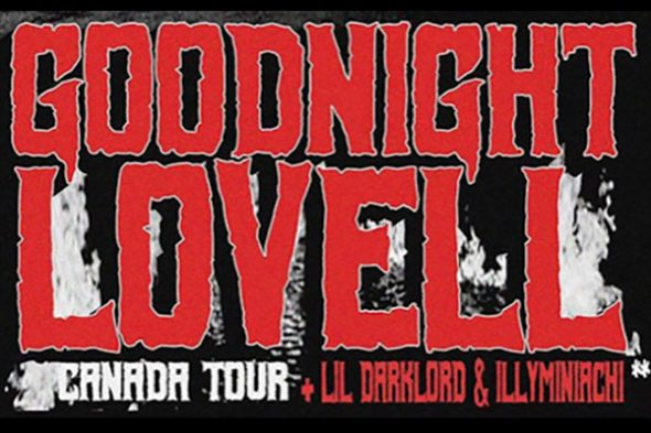 Night Lovell - Goodnight Lovell Tour poster