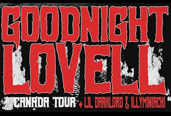 Ottawa's own Night Lovell brings his Goodnight Lovell Tour to Algonquin Commons