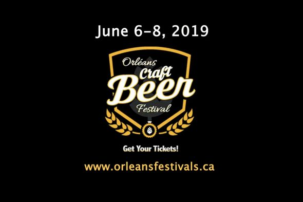 Orleans Craft Beer Festival 2019 - June 6 to  8, 2019